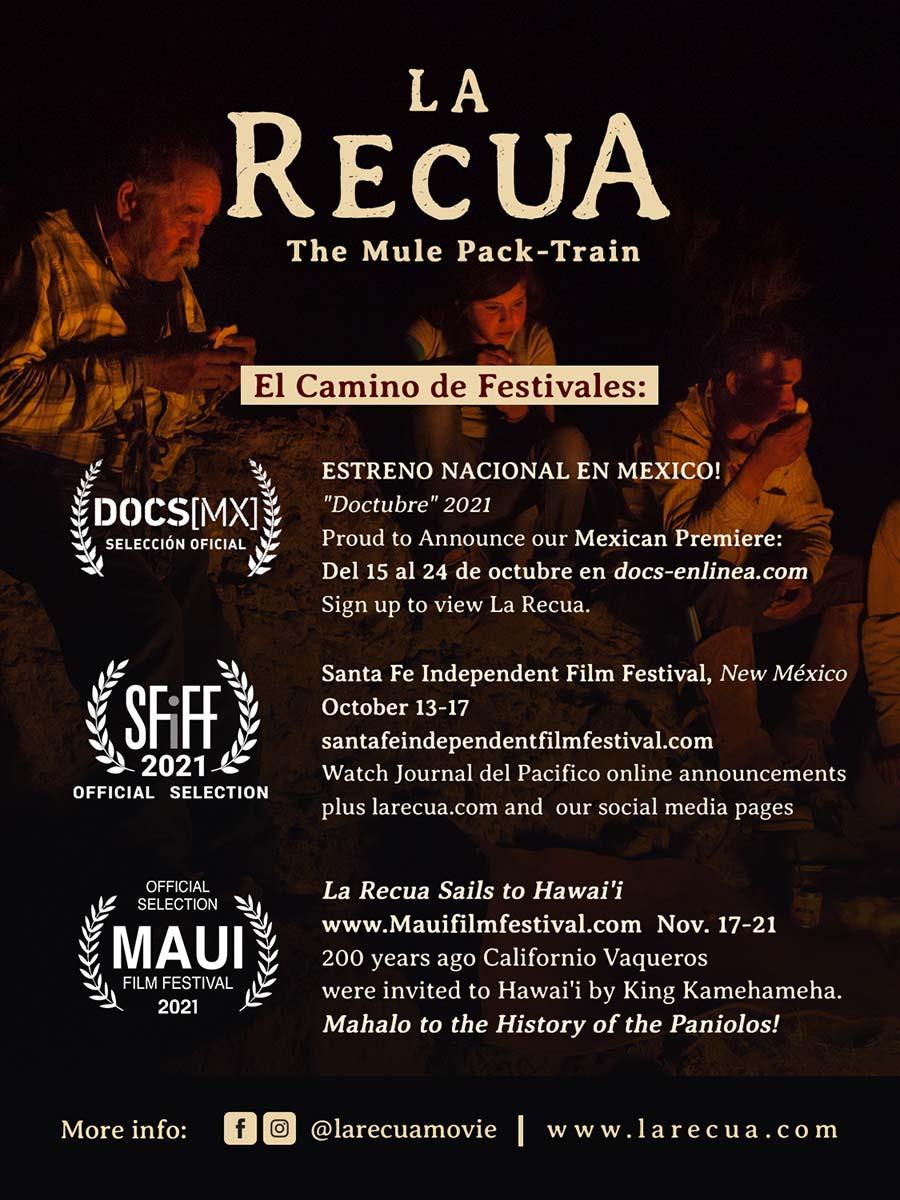 la recua screenings poster